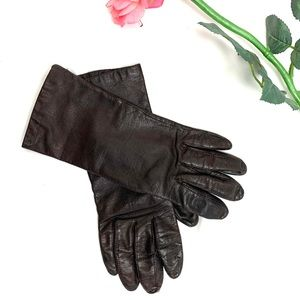 Fownes leather gloves